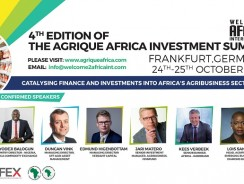EXCLUSIVE INVITATION TO PARTICIPATE IN THE 4TH EDITION OF THE AGRIQUE AFRICA INVESTMENT SUMMIT 2017(AAIS2017)