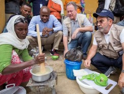 Hunger crises will escalate unless we invest more in addressing root causes, say UN food agency chiefs on visit to drought-hit Ethiopia