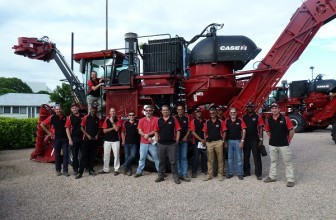 CASE IH Sugar Camp 2016 provides first-hand experience of sugarcane harvesting at its best