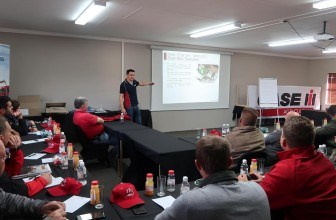 South African commercial training event delivers practical machinery experience.