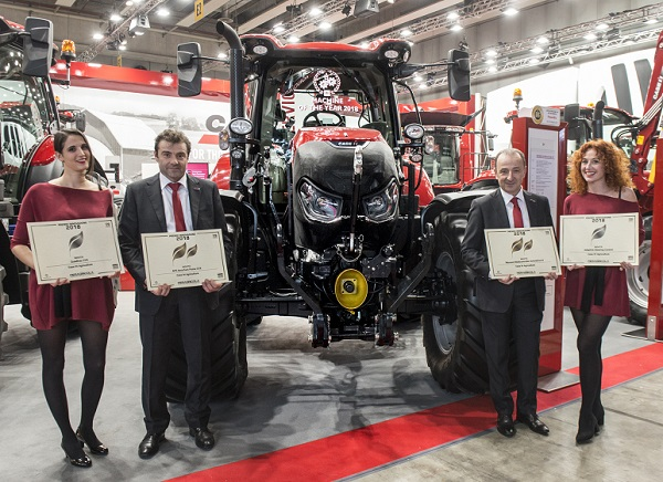 Multiple innovation awards for Case IH at Fieragricola 2018