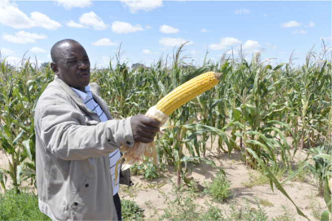 Botswana challenges farmers to adopt new agricultural technologies