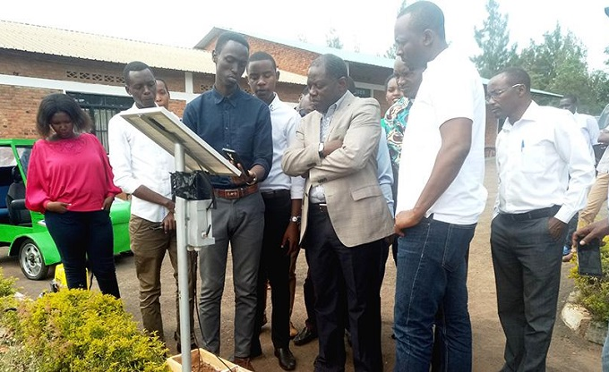 """Rwanda innovators come up with solar powered technology that enables """"hands free"""" irrigation"""