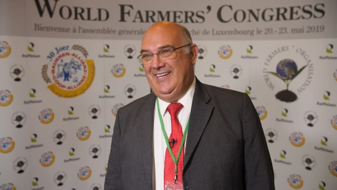 Saai chairman re-elected as president of the World Agricultural Organisation