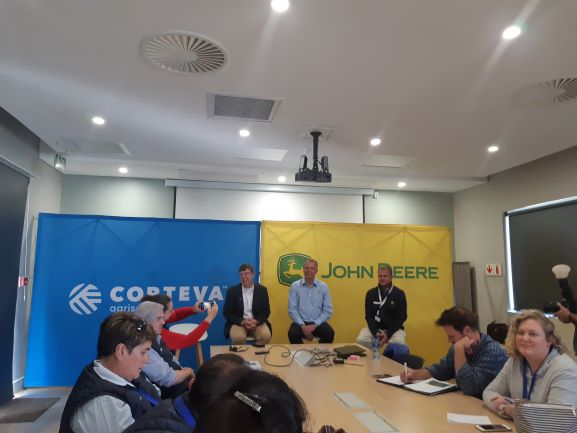 Corteva Agriscience and John Deere invest in technology solutions and tools to help farmers improve farmer productivity and meet consumer needs in Africa