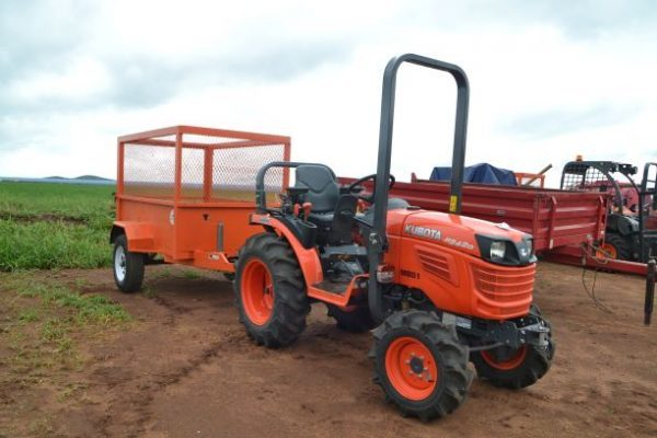 Kubota tractors fit the bill for Madikwe Berries