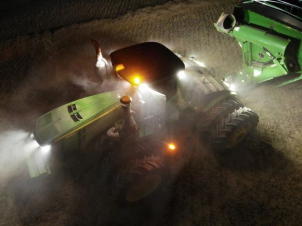 Why should I use LED lights on my farm tractors, sprayers and harvesters?