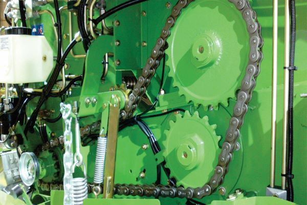 BMG 's high-strength Tsubaki chain developed for agricultural machinery