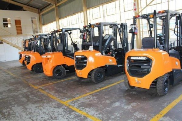 Shumani supplies diesel forklift solution to Marble Hall Farms