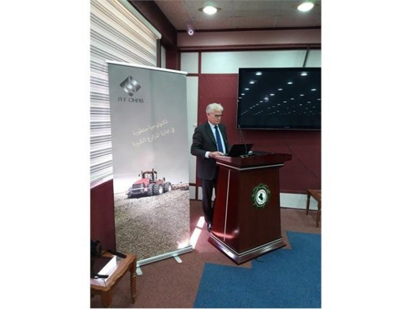 Case IH illustrates a route to sustainable agriculture development in Iraq through partnerships for equipment supply and support