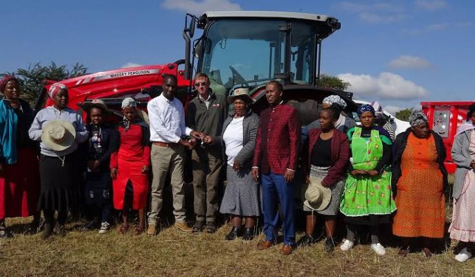 Massey Ferguson lends support to South Africa's emerging farmers