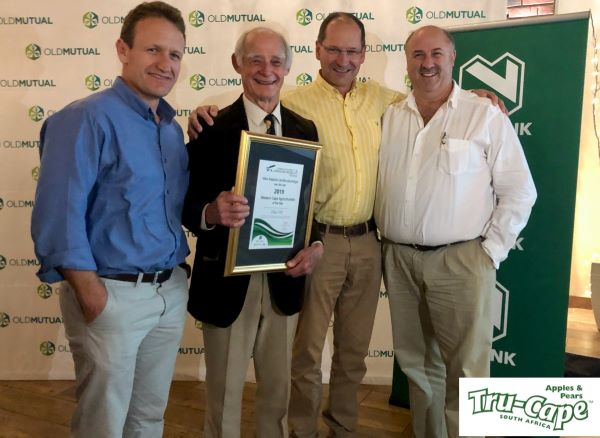 Tru-Cape's New Variety Expert is Western Cape Agriculturist of the Year