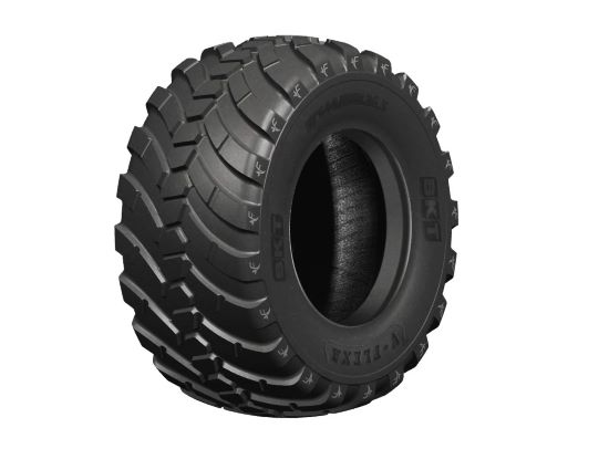 Top BKT agricultural tires on display at FIMA