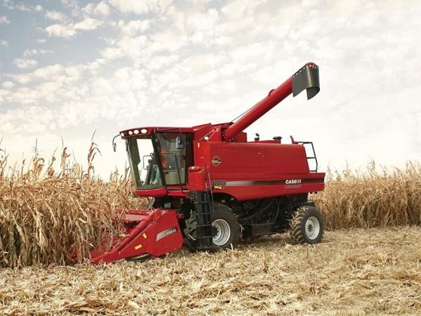 Axial-Flow 4088 combine put to the test in tough African conditions