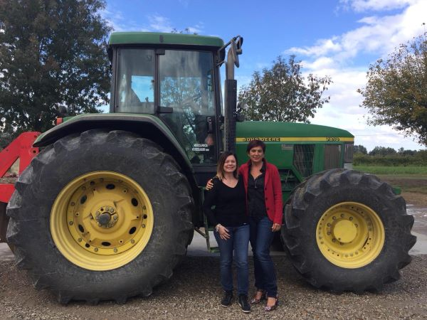 Creativity, passion, clarity and resilience. Agriculture with a woman's touch