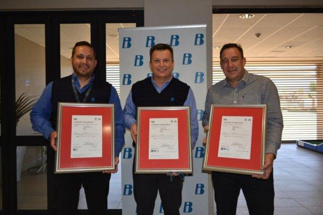 BI is up to date with the latest quality standards thanks to BSI