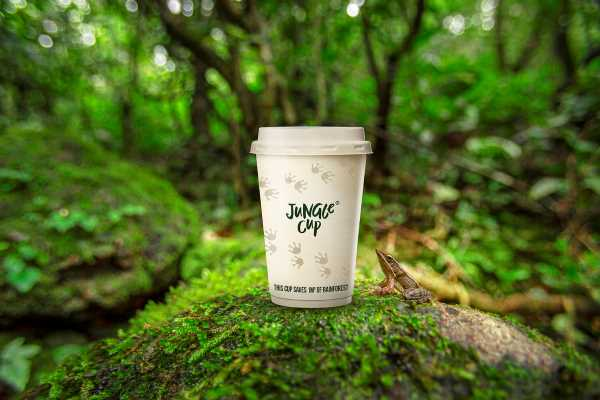 BrandBase launches Jungle Cup®, the world's first plastic-free home compostable cup