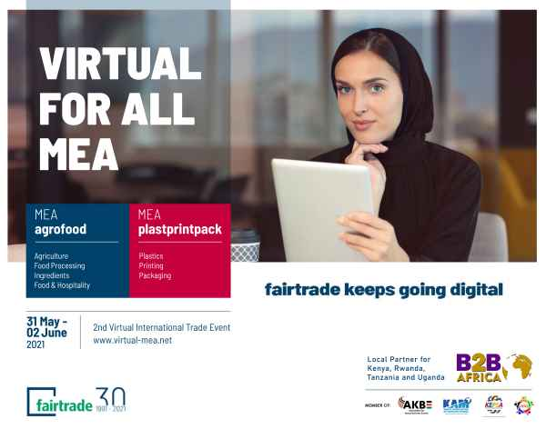 fairtrade launches Virtual for all Middle East Africa 2021