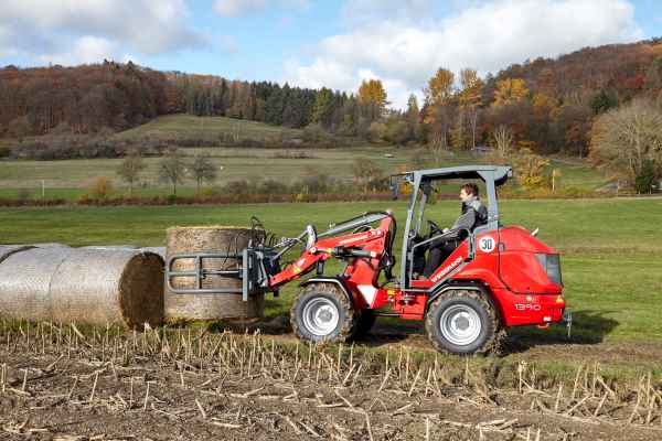 The relaunch of the powerful Hoftrac® 1380 by Weidemann.