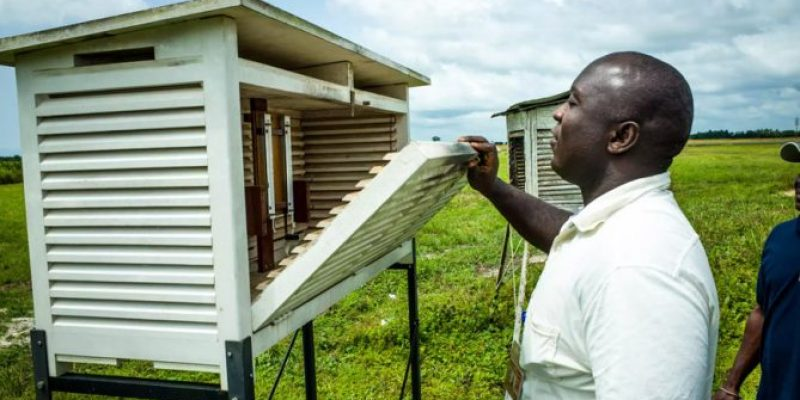 UNDP sets up 11 automatic weather monitoring stations in Liberia
