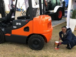 Breathing new life into old forklifts